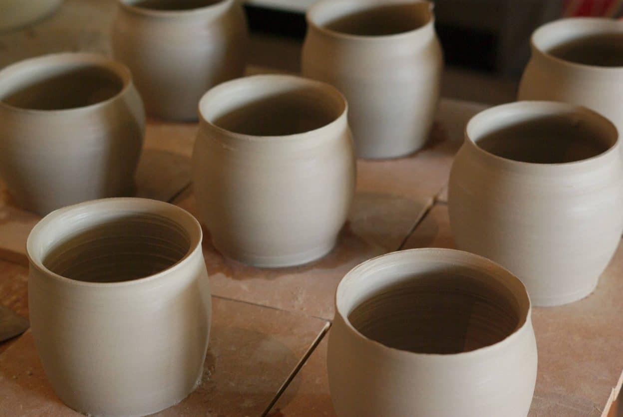 Série de pichets en grès, L'atelier Sy
