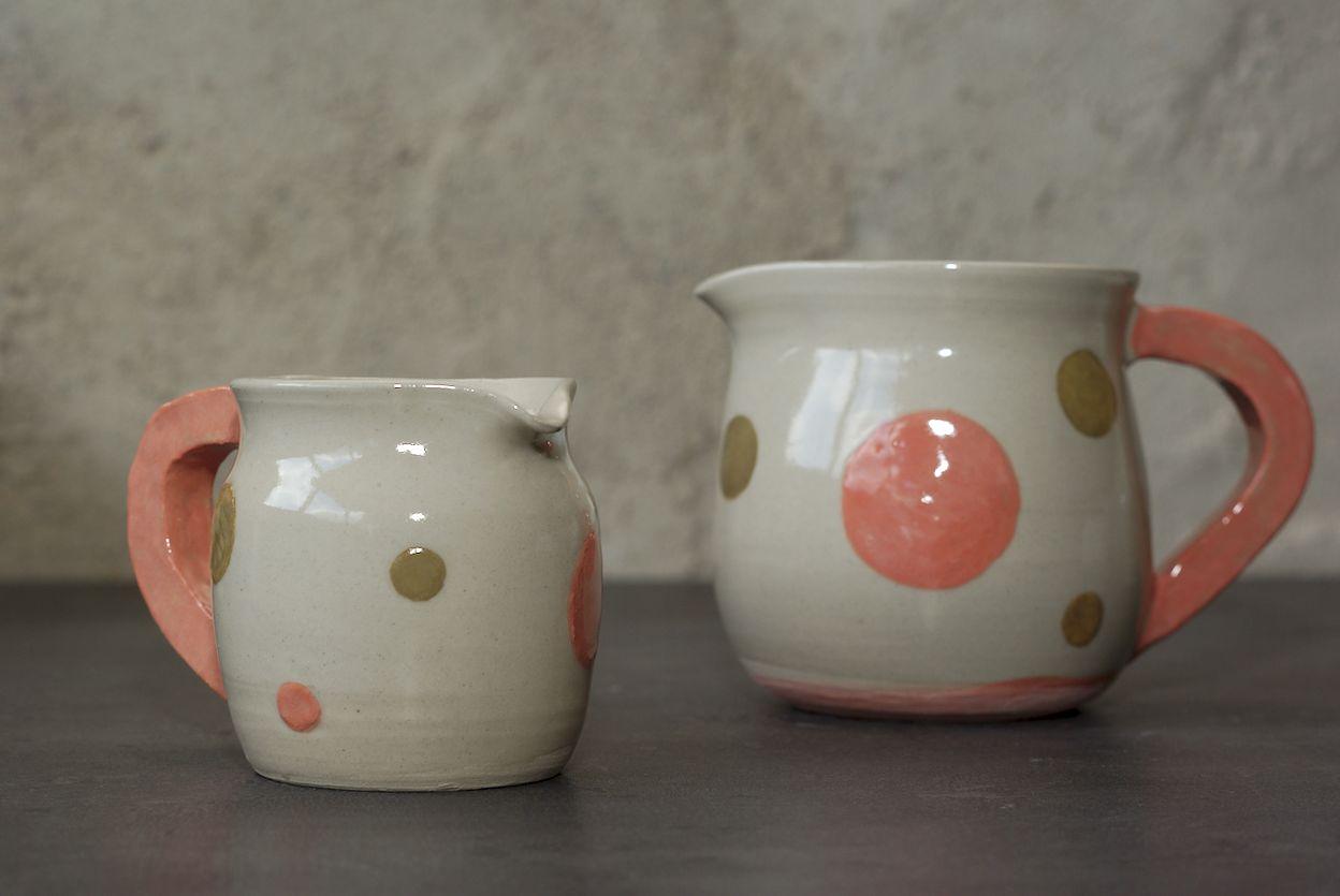 Pichets en grès, poterie de L'atelier Sy