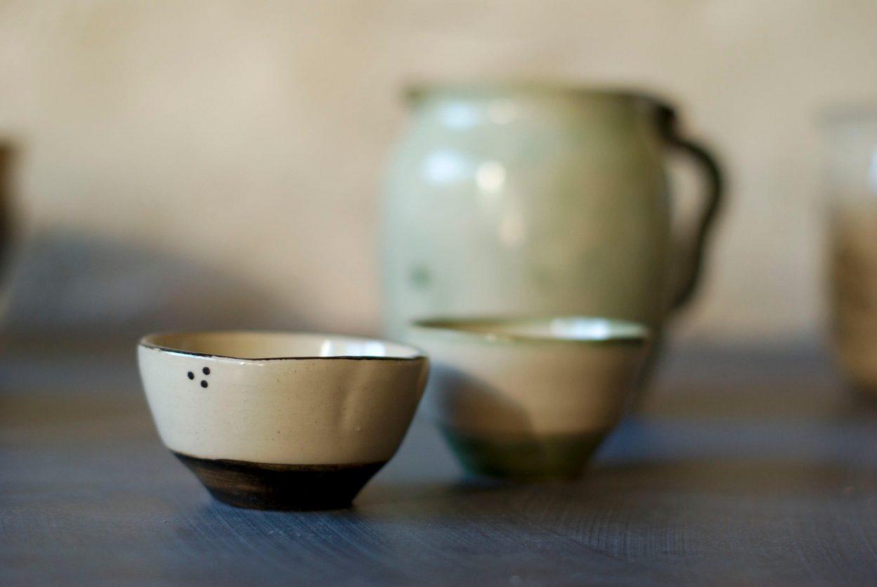 Collection marron-vert L'atelier Sy